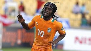 Ivory Coast's Gervinho celebrates his goal against Togo during their African Nations Cup (AFCON 2013) Group D soccer match in Rustenburg